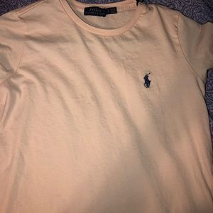 Women's polo crew neck T-shirt